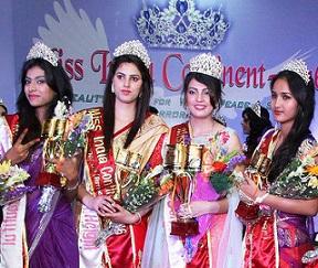 Miss India Continental 2016 winners