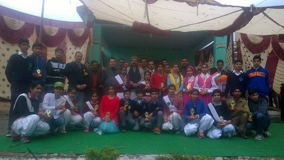 Annual Function Govt Senior Secondary School at Sandhole