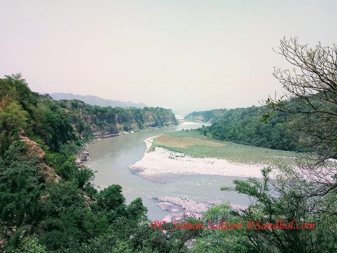 Beas River at Sandhole